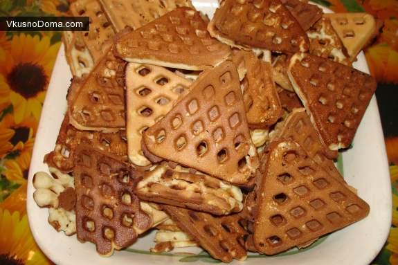рецепт мамины вафли всоветской вафельнице